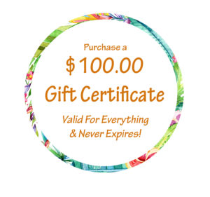 Gift Giving with Gift Certificates
