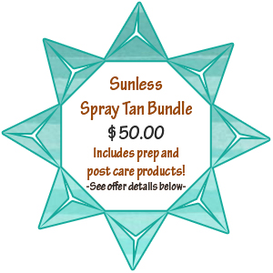 Holiday Spray Tan Deal!